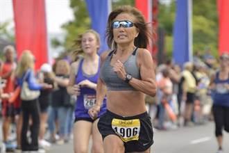 70歲阿嬤挑戰紐約馬拉松 成績不輸年輕人
