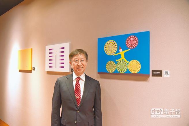 日本明治大學特任教授杉原厚吉,長期研究錯覺造成的「眼見」與「真實」落差。(國立故宮博物院提供)