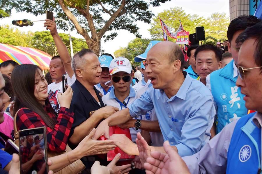高雄市長韓國瑜。(資料照片/呂妍庭攝)