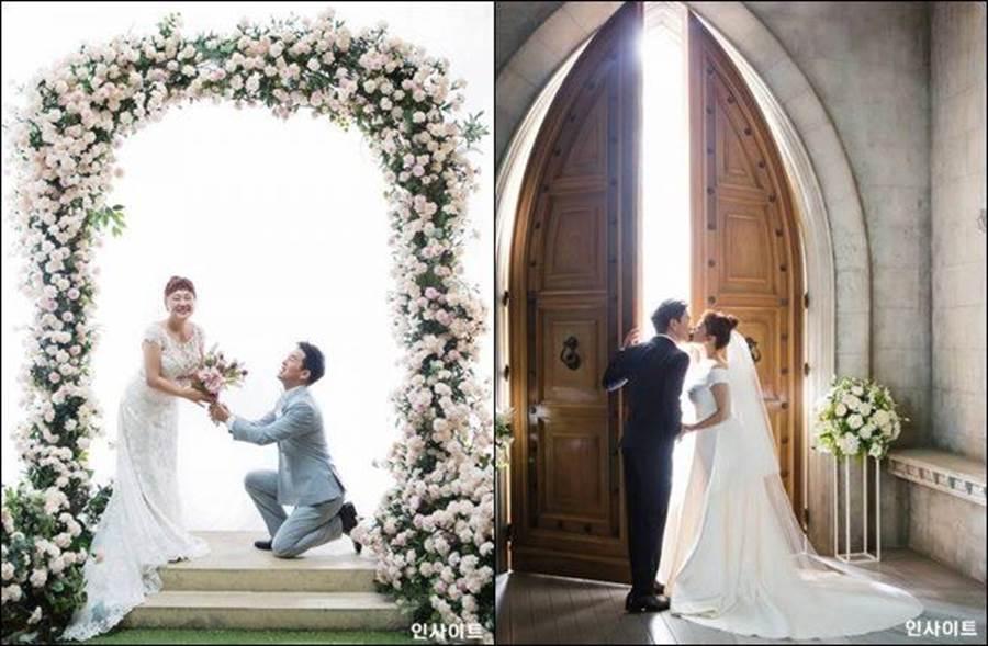 即將在本月17日走進婚姻殿堂,兩人的好人緣屆時勢必有眾多大明星參加。(圖/翻攝自韓網)