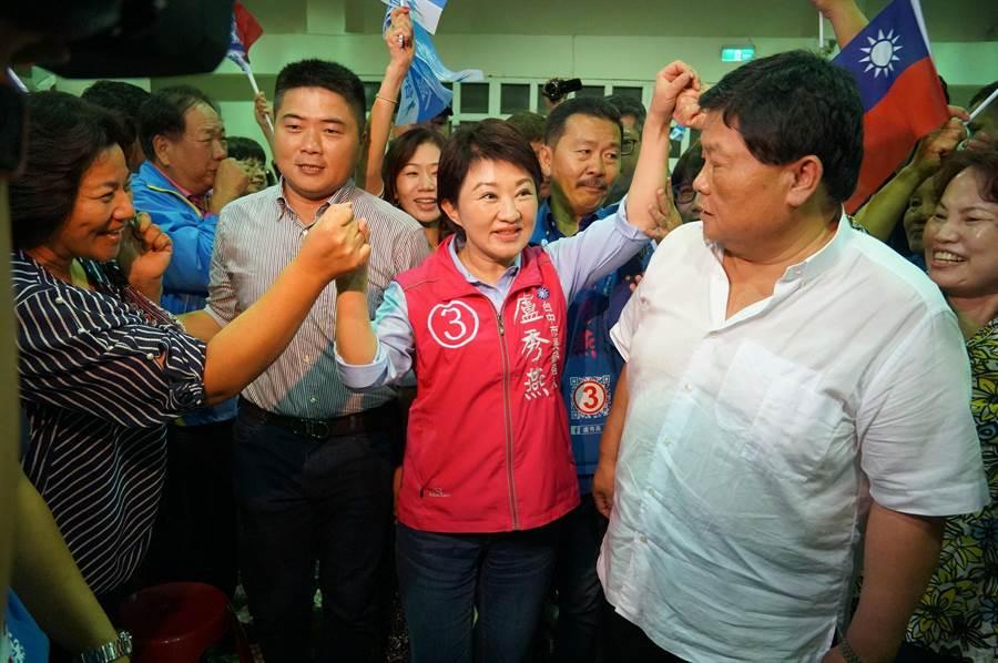 國民黨台中市長候選人盧秀燕。(黃國峰攝)