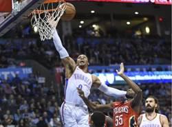 NBA》韋少腳踝扭傷無大礙 最快下周歸隊復出