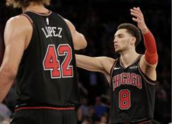 NBA》拉文41分加絕殺罰球 公牛延長賽險勝尼克