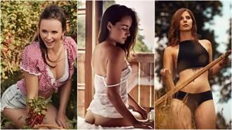 男士們買起來!德奧推出「性感農夫年曆」 薄紗、露點通通來