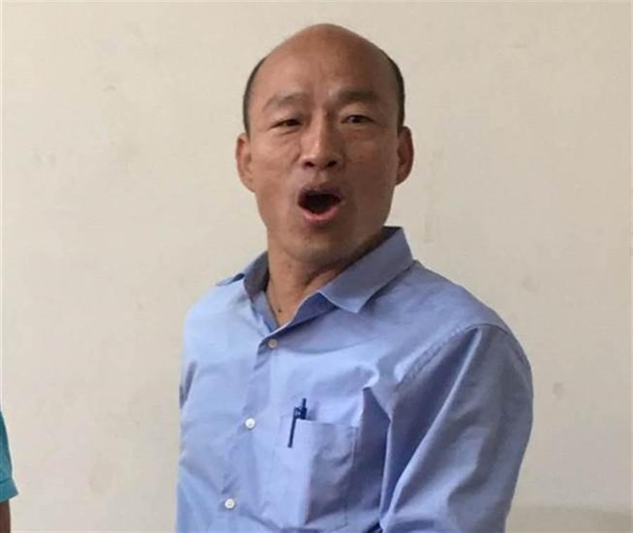 國民黨高雄市長候選人韓國瑜。(本報資料照片/陳育賢翻攝)