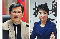 台中》最新媒體民調 盧秀燕領先林佳龍13%!