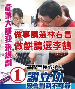 基隆》網友P圖諷「只會畫大餅」謝立功:亂改圖恐違法
