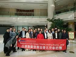 台灣製藥發展協會北京對接 17家藥廠搶攻商機