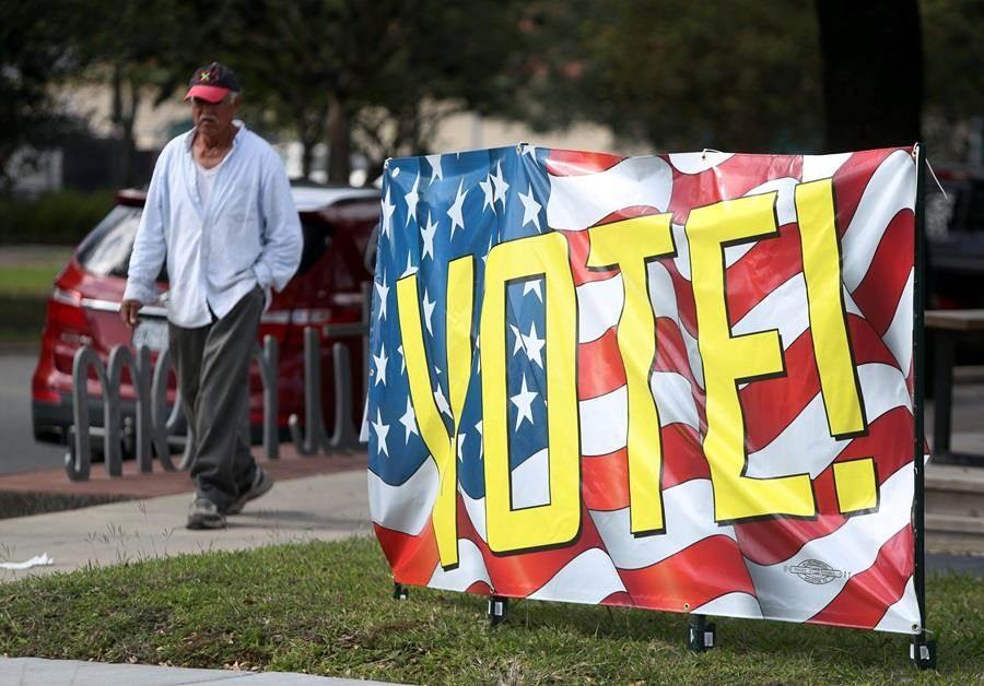 美國期中選舉結果今天下午出爐,少數族裔候選激增,可望締造多項紀錄。(圖/美聯社)