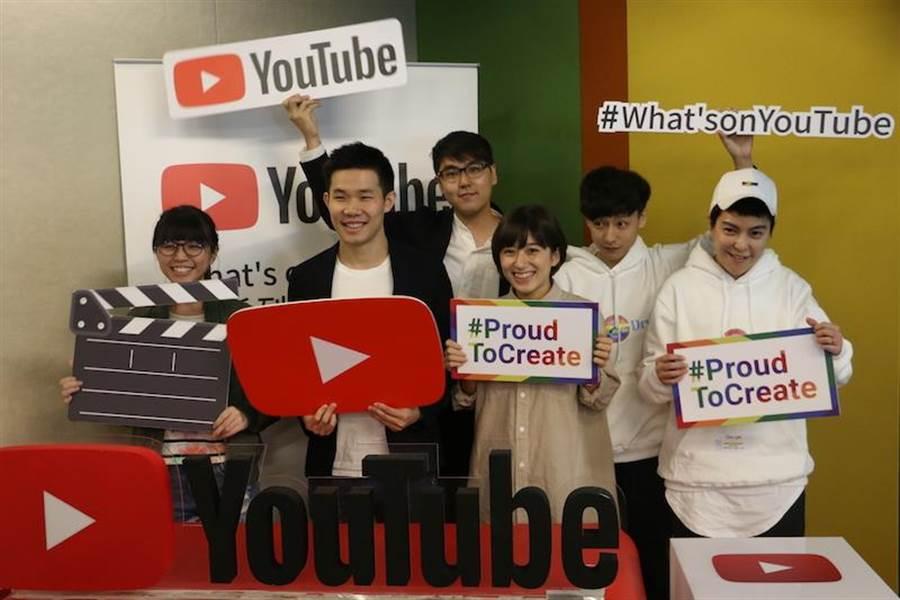 YouTube 今日邀請關注社會議題的創作者前來分享,如何發揮己身力量來傳遞正面能量。(圖/黃慧雯攝)