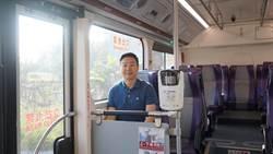 台中》帶著民眾搭公車 陳世凱推公車願景