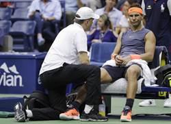 網球》醫生透露 納達爾4周後才能再打球