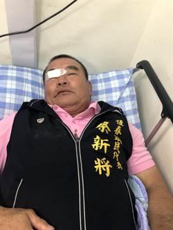 恆春鎮長選舉爆流血衝突   鎮代臉部被打到流血