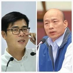 高雄》政論節目超驚人電話民調出爐 韓國瑜8%慘輸陳其邁92%