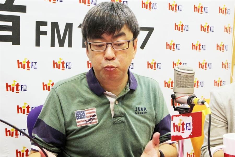 民進黨立委段宜康評估,黨候選人陳其邁在高雄市長選戰只能贏2萬票以內。(蔻蔻早餐提供)