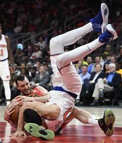 NBA》重摔遭嘲諷 坎特怒嗆老鷹官推小編是高中生嗎?