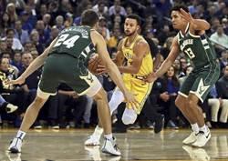 NBA》柯瑞失常還傷退 勇士主場失守中止8連勝