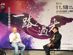 《一路走過來,台灣百年音樂風華》 吳念真導演將於灣聲樂團音樂會講述台灣故事