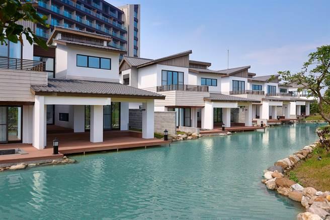 豪華湖畔Villa。圖:綠舞提供