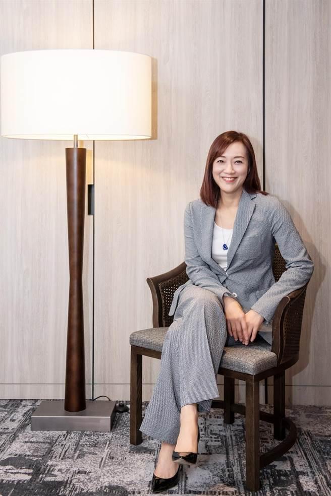 渣打银行东协暨南亚地区行政总裁徐仲薇,应邀参与英国商会举行之Women in Business活动。(图/业者提供)