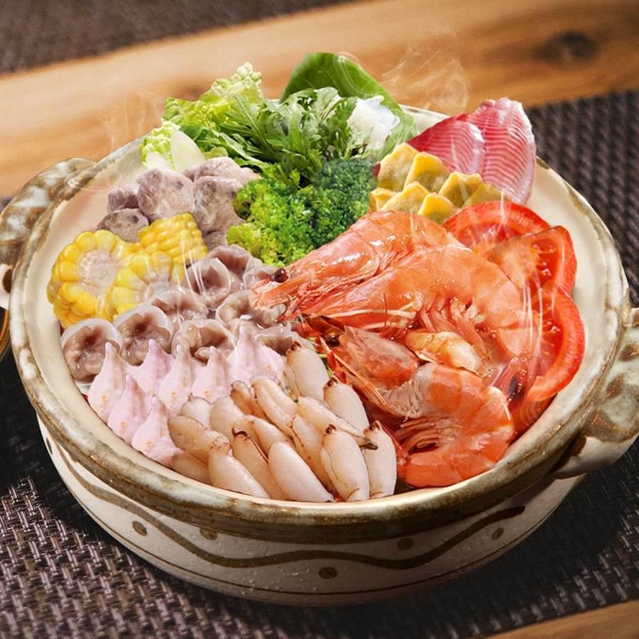西北食品「小資蕃茄海鮮相撲鍋」。圖/業者提供