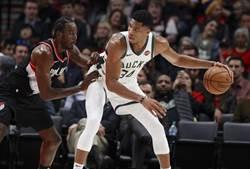 NBA》字母哥篡位!官方MVP榜取代柯瑞居首
