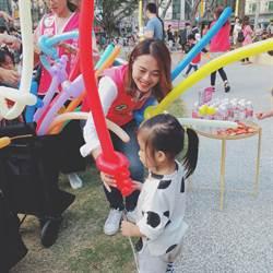 搶攻竹科親子票源 鄭美娟自學成氣球達人