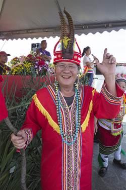 三鶯大橋下「吉拉箇賽部落」豐年祭開幕