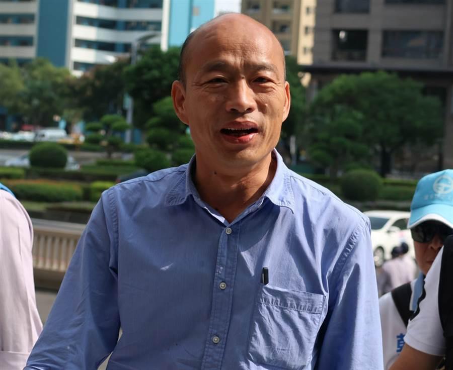 高雄市長韓國瑜。(中央社)