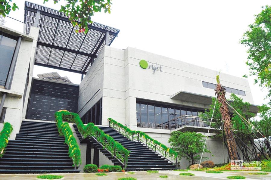 O'right歐萊德總部,會呼吸的綠建築。圖/歐萊德