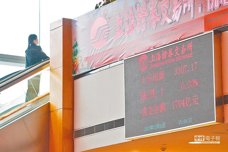 上海證券交易所近期設立科創板並試點註冊制,引起熱議。圖為上海證券交易所大廳。(中新社資料照片)