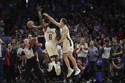NBA》路威拋投絕殺 快艇超驚險OT宰鹿