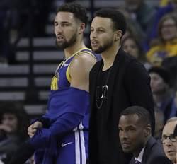 NBA》柯瑞再缺席兩客場比賽 無法確定歸隊日期