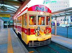 日本愛知縣限定「黑輪電車」為寒冷冬季注入一股暖流