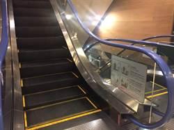 電梯等太久! 女推母輪椅上手扶梯不慎摔傷