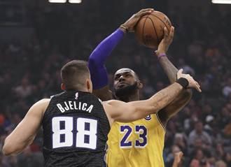 NBA》有拳王真好!湖人穩住尾盤力挫國王