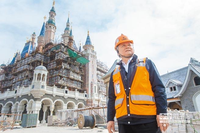 豪門國際開發董事長簡廷在和作品。(CFP)
