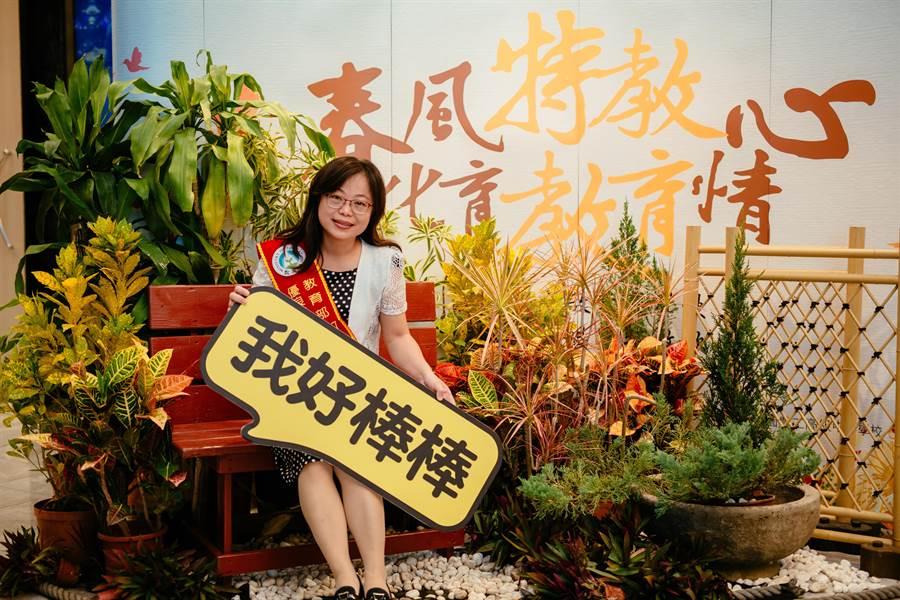 高雄市立三民家商老師陳香利。(教育部提供)
