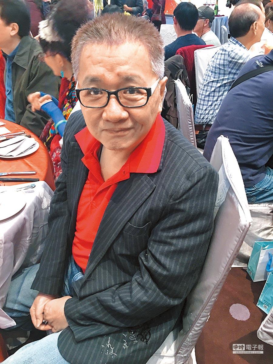 王夢麟昨得意瘦了16公斤,強調和開刀無關。(洪秀瑛攝)