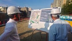 林智堅視察公道三安置基地明年中完工