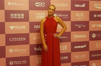 海碩女網賽選手之夜 「紅色希臘女神」降臨