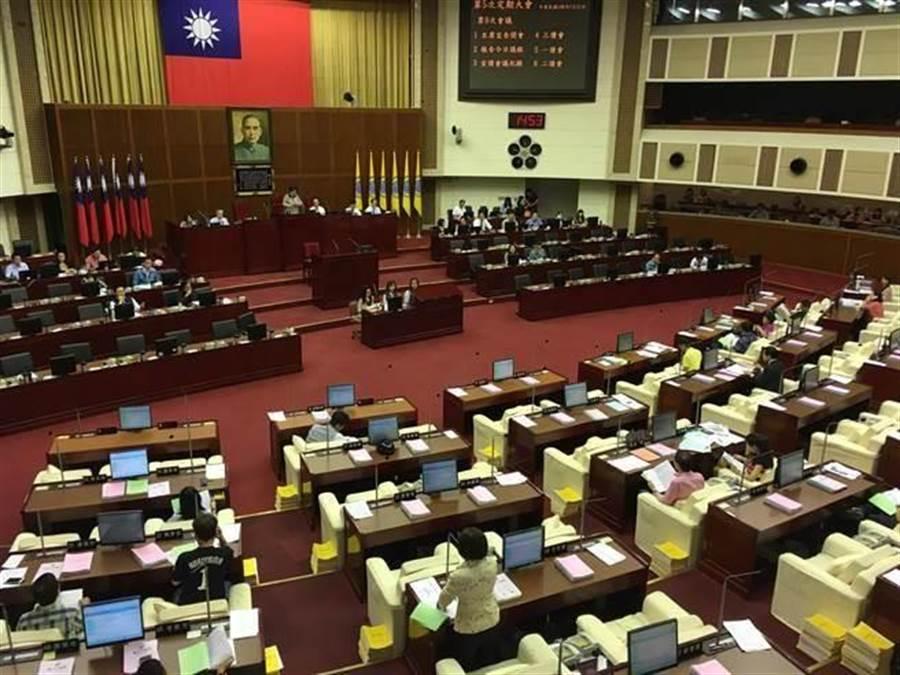 台北市議會。(資料照)