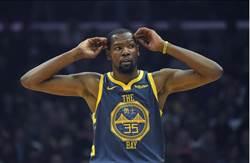 NBA》杜蘭特怒嗆球迷 聯盟開罰2.5萬美元