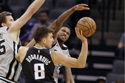 NBA》魚腩翻身 國王終結對馬刺14連敗