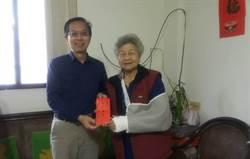 活動中心昨才啟用 85歲奶奶樓梯踩空撞破頭