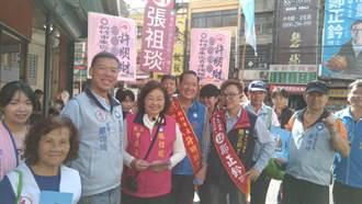 國民黨青年輔選拜票列車前進關東橋  新竹市長候選人許明財提出客家政策