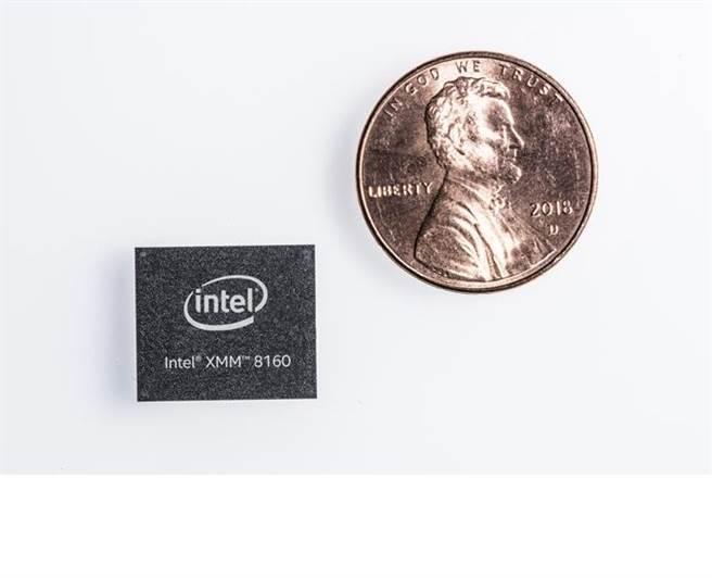 英特爾 XMM 8160 5G多模數據機晶片。(圖/翻攝英特爾官網)