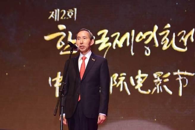 中韓國際電影節組織委員長龍宇翔是中韓電影節重要的推手。(全球城市選拔協會提供)