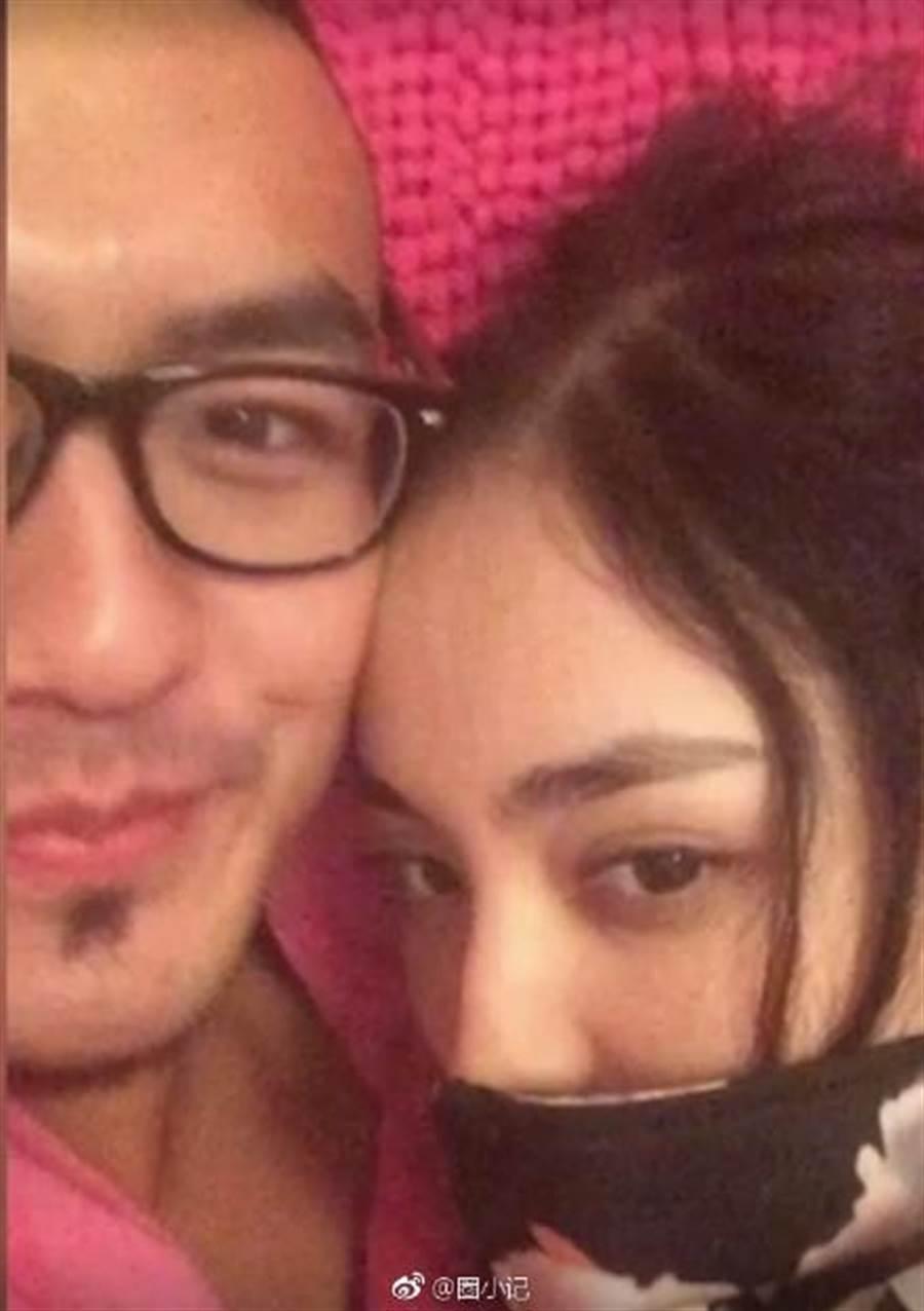 該名男子隨後被肉搜,是古力的北京電影學院同學。(圖/翻攝自微博)