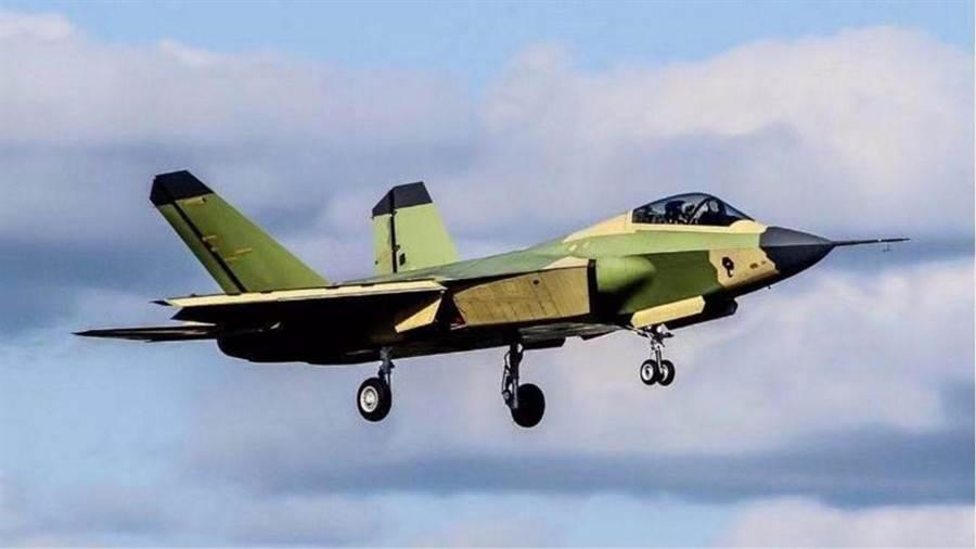 已被定位為出口型第5代戰機的FC-31鶻鷹戰機。(圖/鳳凰網)